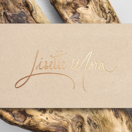 Lisette Mora - Hand drawn signature