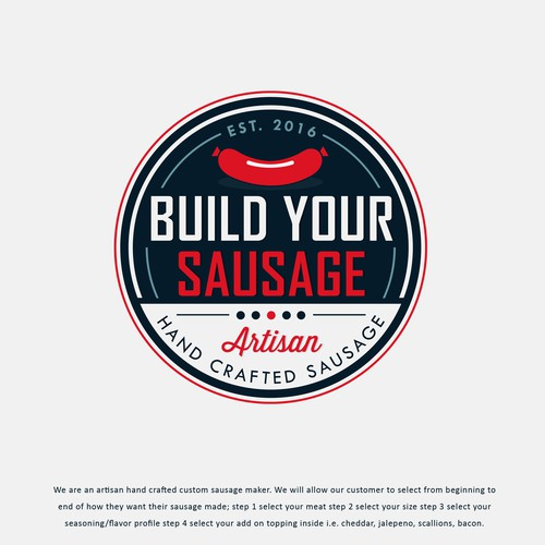 Build Your Sausage Logo