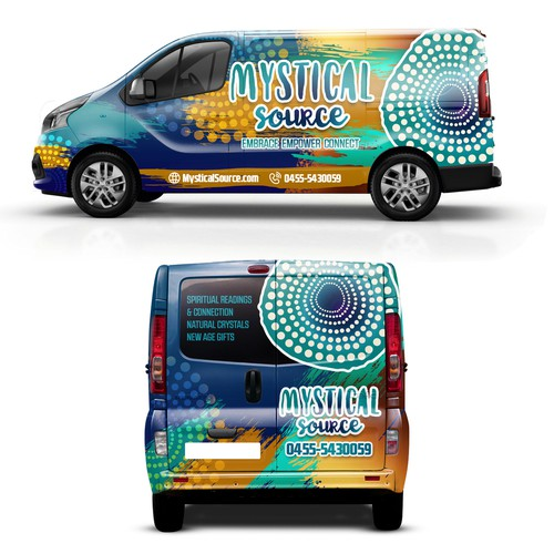 Mystical Source Van Wraping