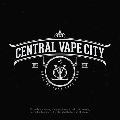 Logo Design for Central Vape City