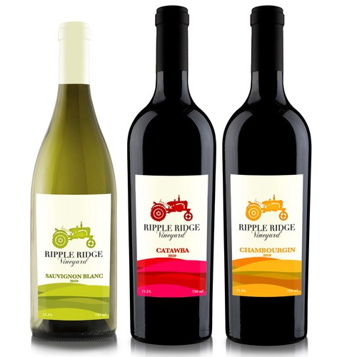 New product label wanted for Ripple Ridge Vineyards LLC