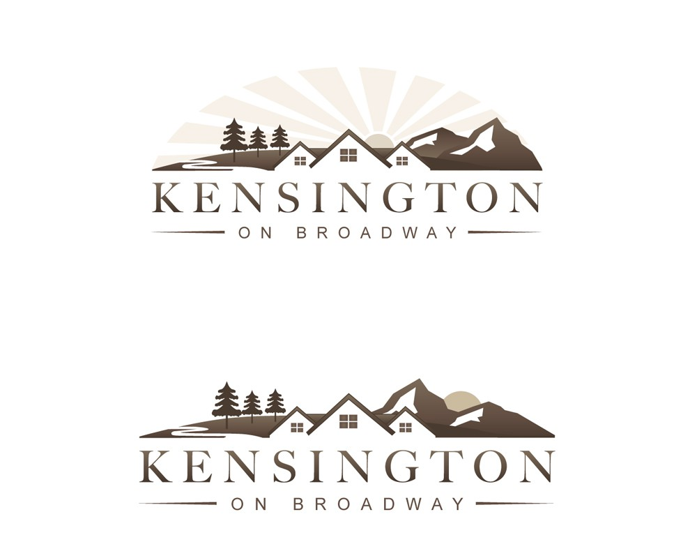 "Logo for ""Kensington on Broadway"" - a Real Estate Development Project"