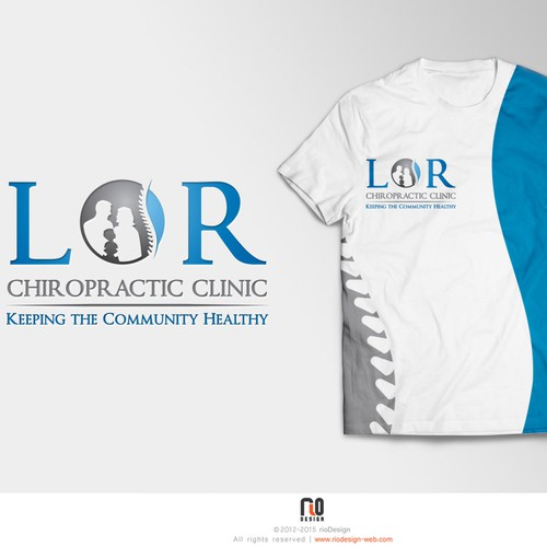 Medical, Chiropractor Clinic, Image, Branding, Trendy, Modern designs