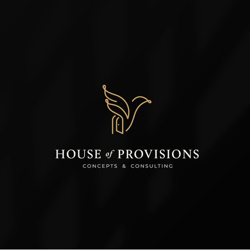 Sophisticated logo for a brand of hospitality services