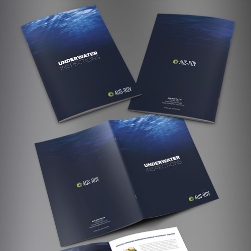 Brochure Design for AUS-ROV