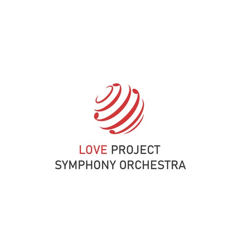 Logo for Love Project Symphony Orchestra