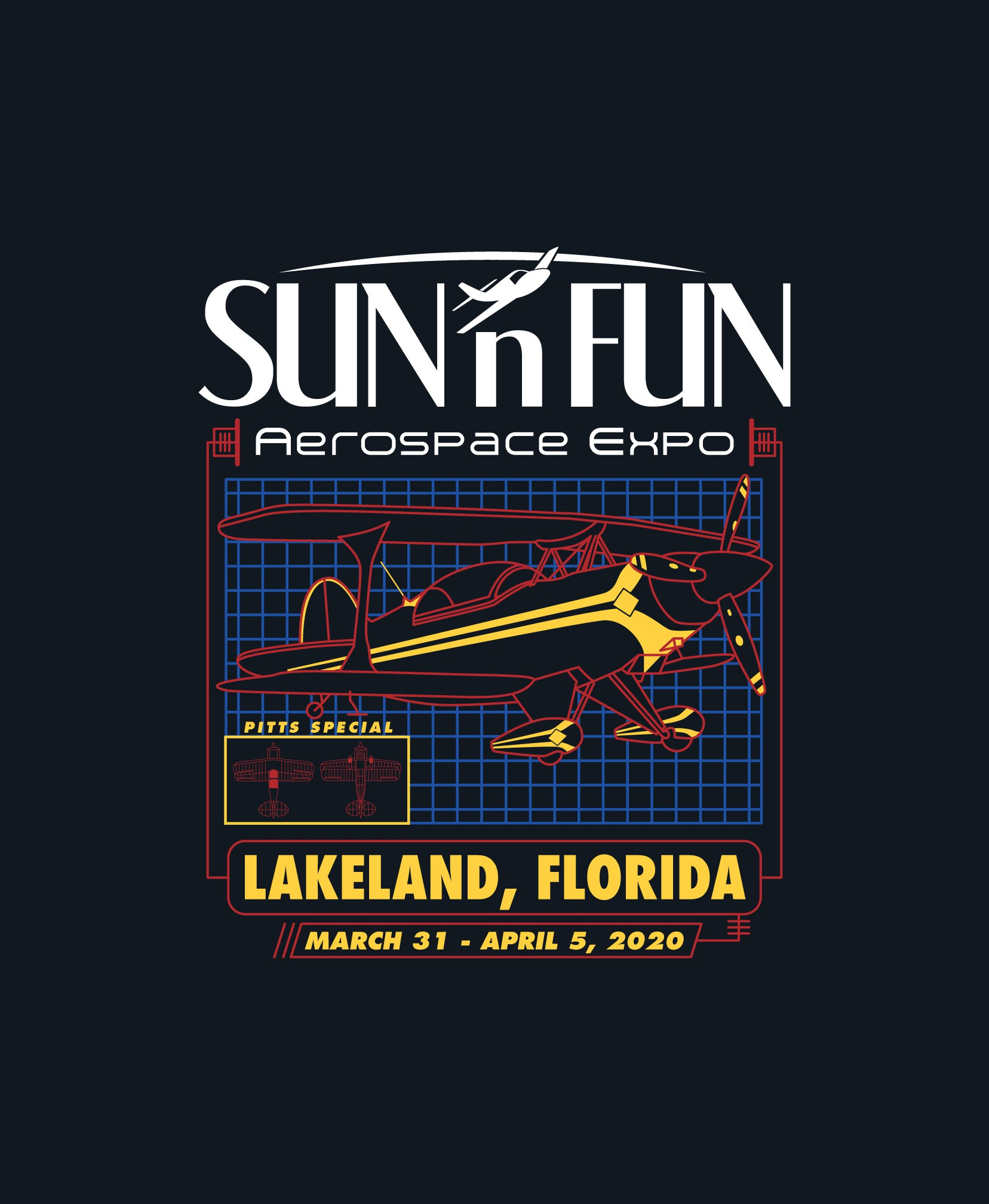 Major Airshow Event T-Shirt with Mass Appeal