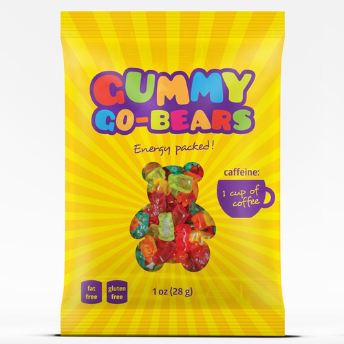 Gummy Bears Packaging