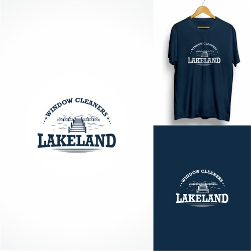 Logo Concept fo Lakeland Windows Cleaners