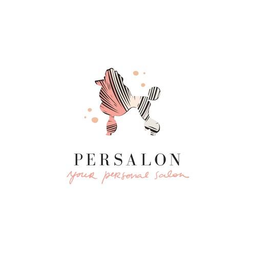persalon logo for personal salon app