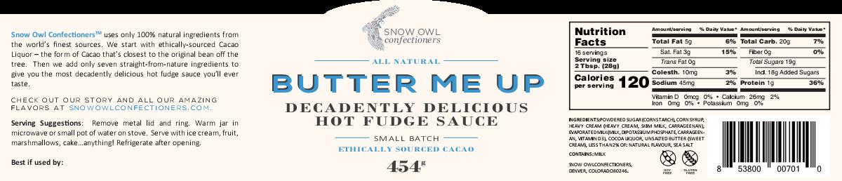 Snow Owl Label