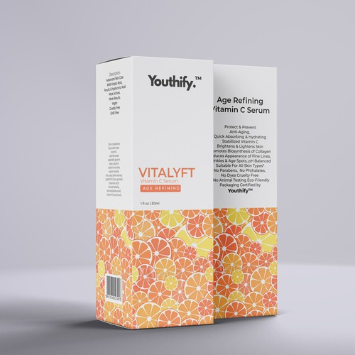 Product Packaging for Vitamin C Serum
