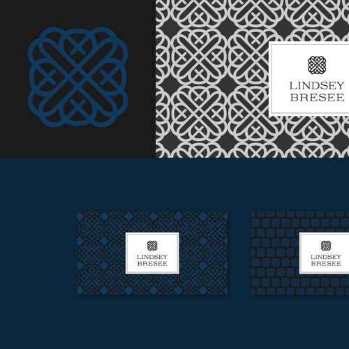 Logo and business card design for a design consultant