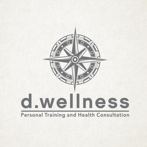 Compass Logo for Fitness Company