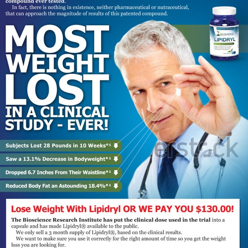 Advertisement for LIPIDRYL