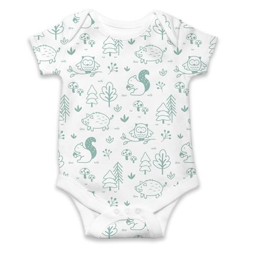 Baby pattern- woodland theme
