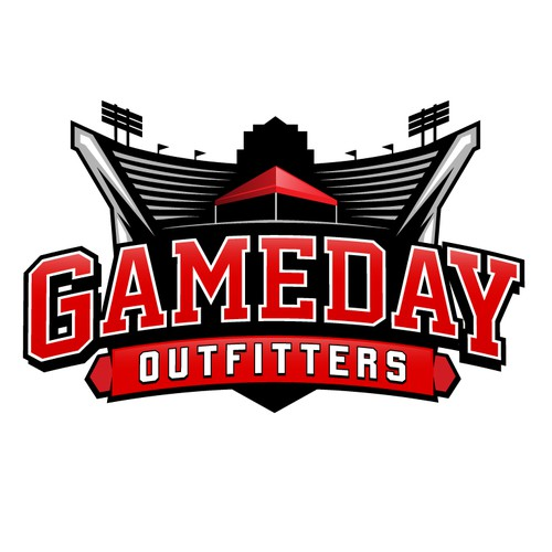Gameday Outfitters Logo Design
