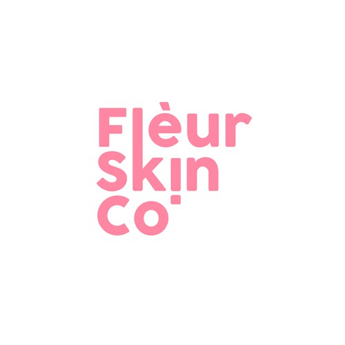 Flèur Skin Co. Logo
