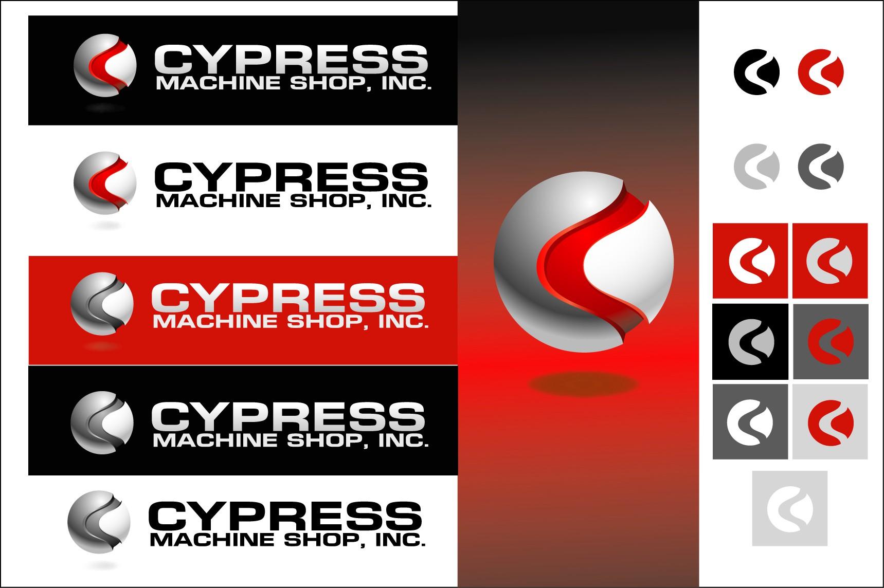 HELP PLEASE!! Cypress Machine Shop, Inc. needs a great new logo.