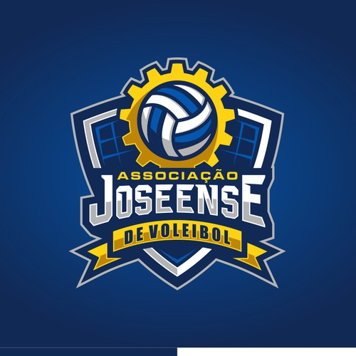 New logo for a brazilian volleyball team