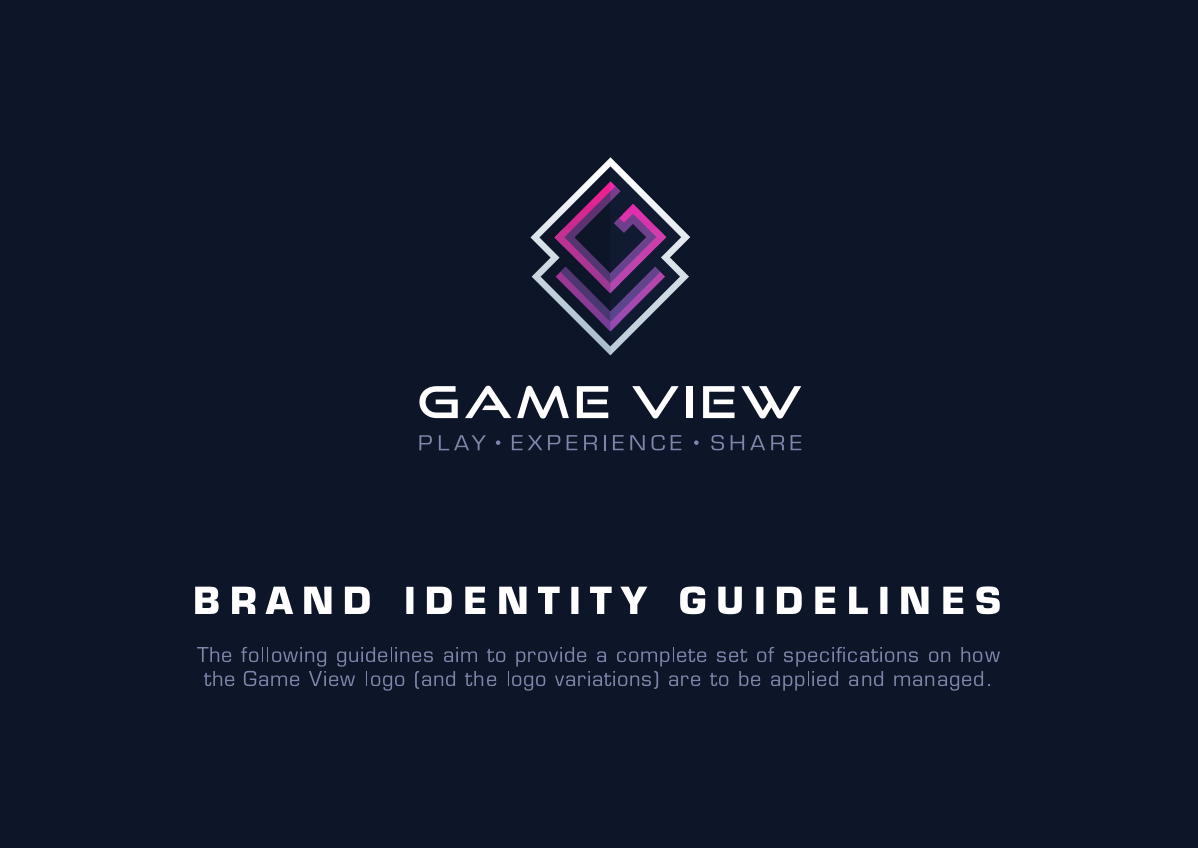 Brand Guidelines for Game View