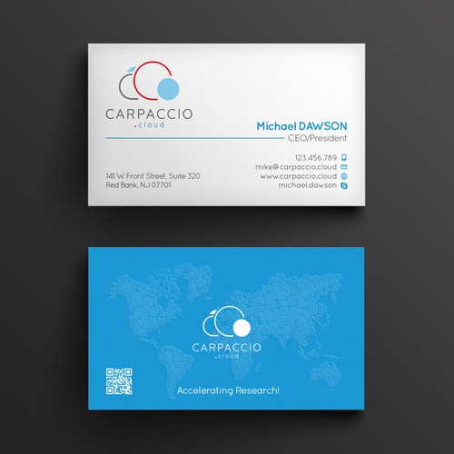 Graphic ID for CARPACCIO.cloud