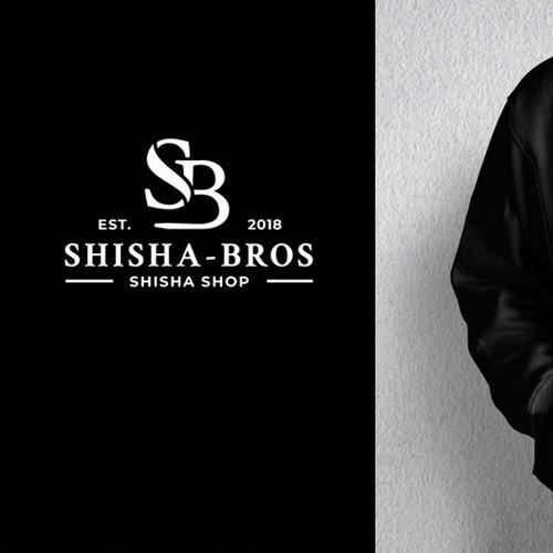 Schlichtes und klassisches Logo für Shisha-Shop