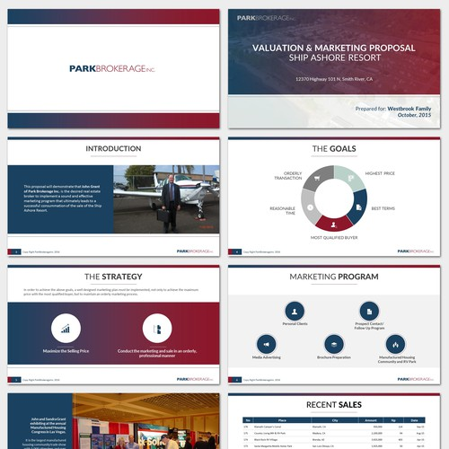 ParkBrokerage Presentation Design