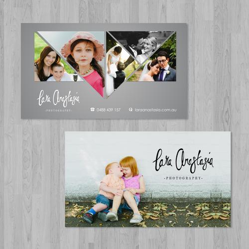 business card for Lara Anastasia