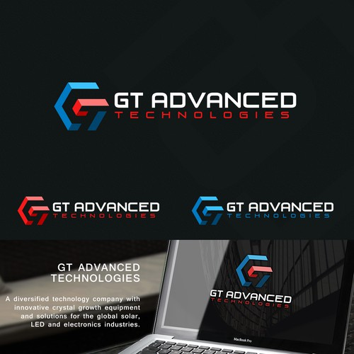 Unique concept incorporating two valuable shapes (hexagon and 3D square) that best describe what the company does. While also incorporating the letter GT.