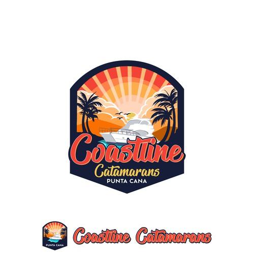 Logo For Coastline Catamarans Punta Cana