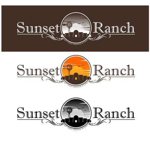 """Sunset Ranch"" Wedding Event Venue needs a logo"