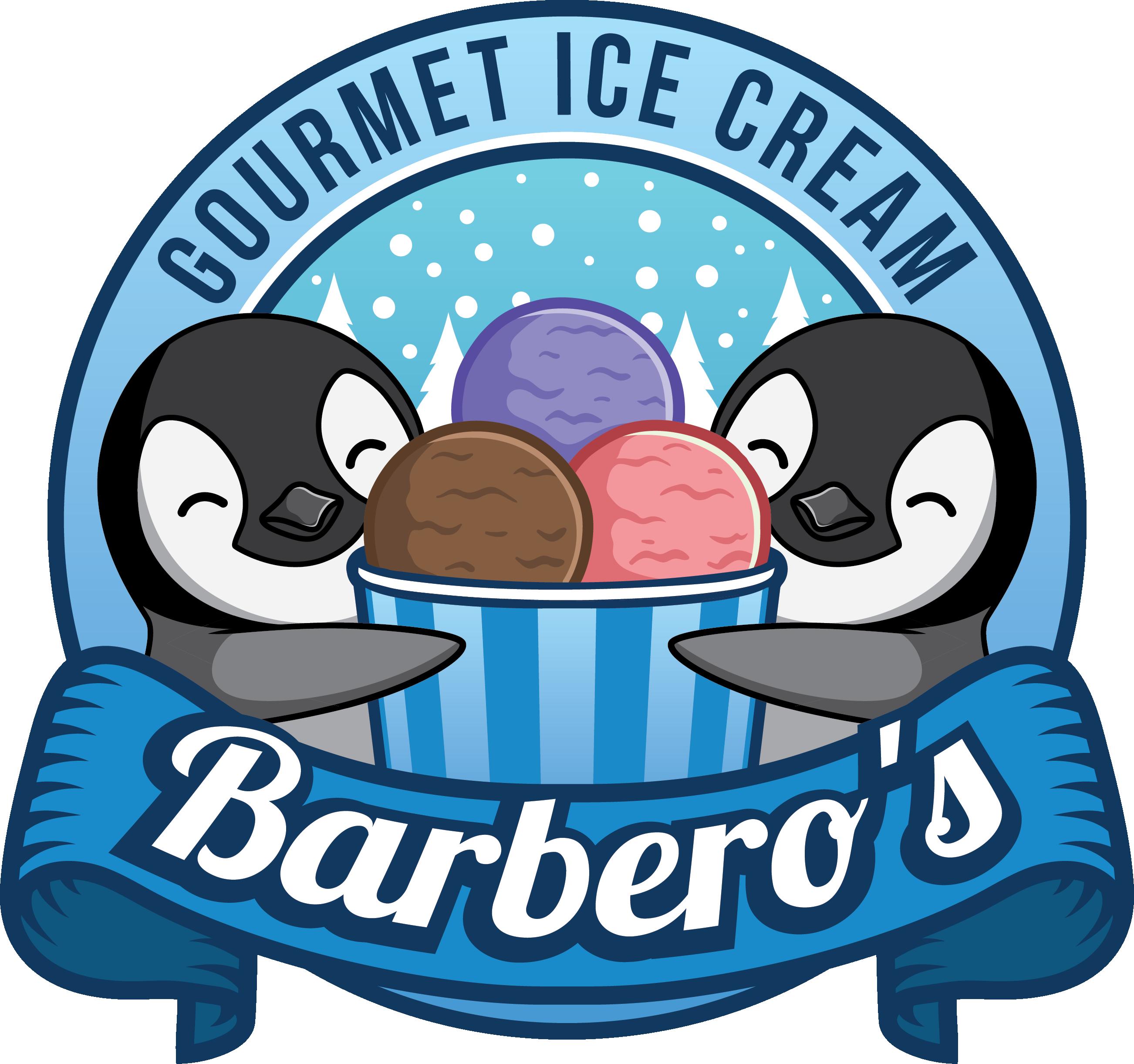Logo design for gourmet ice cream brand