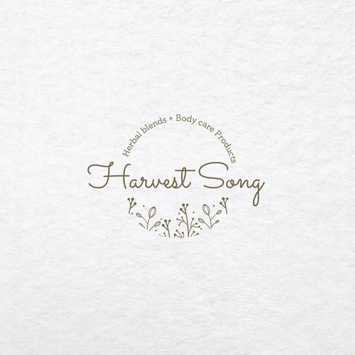 Logo concept for Harvest song