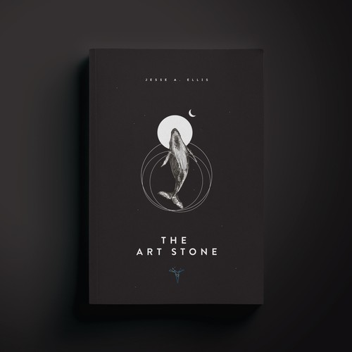The Art Stone, a minimalist fantasy book cover.