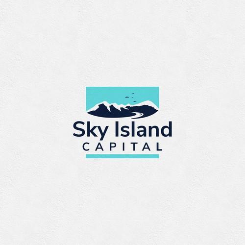 Logo concept for Sky Island.