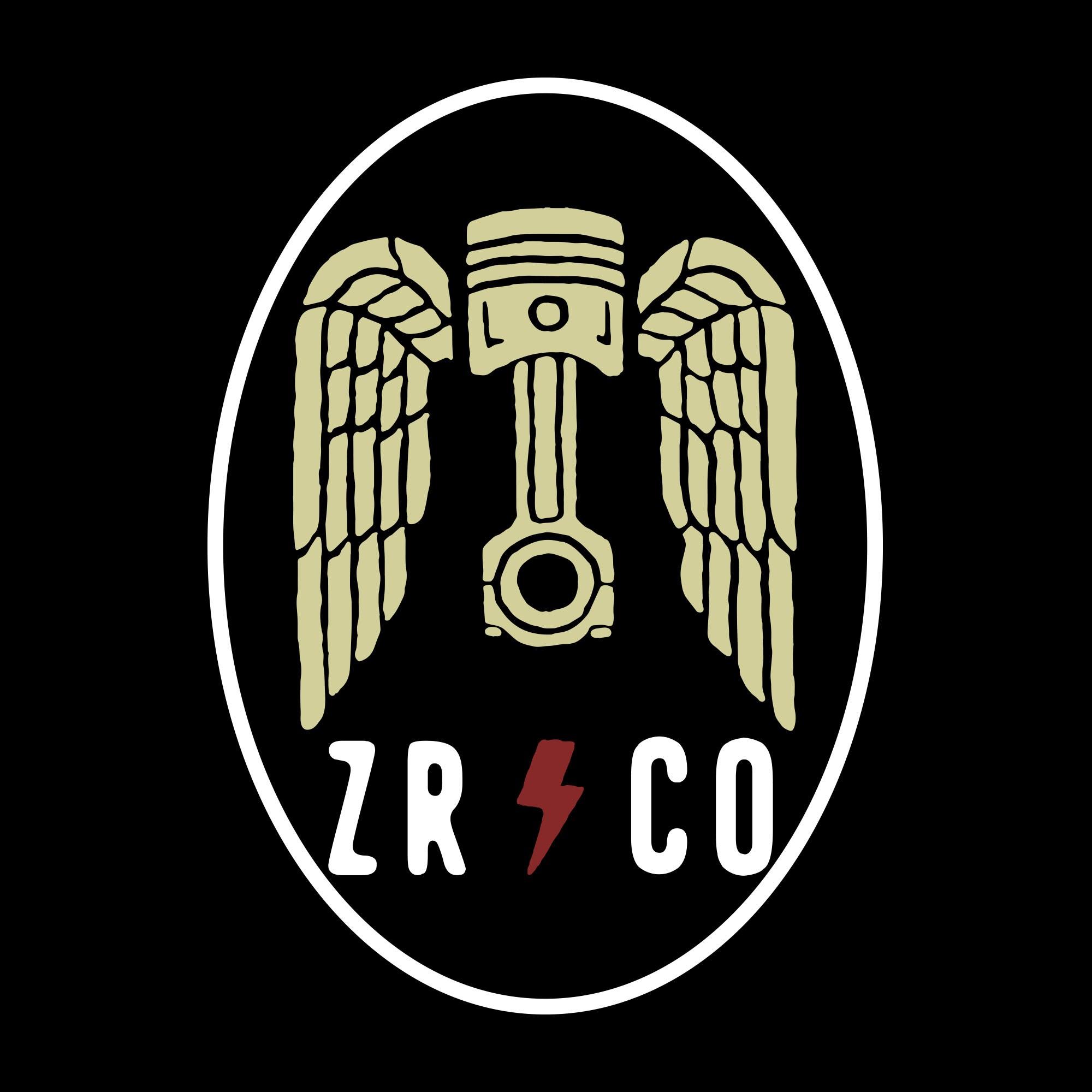 Vintage logo design for Hotrod clothing company slanging engines for old cars!!!