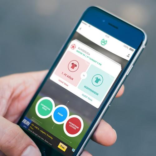 A Sports Betting App Design