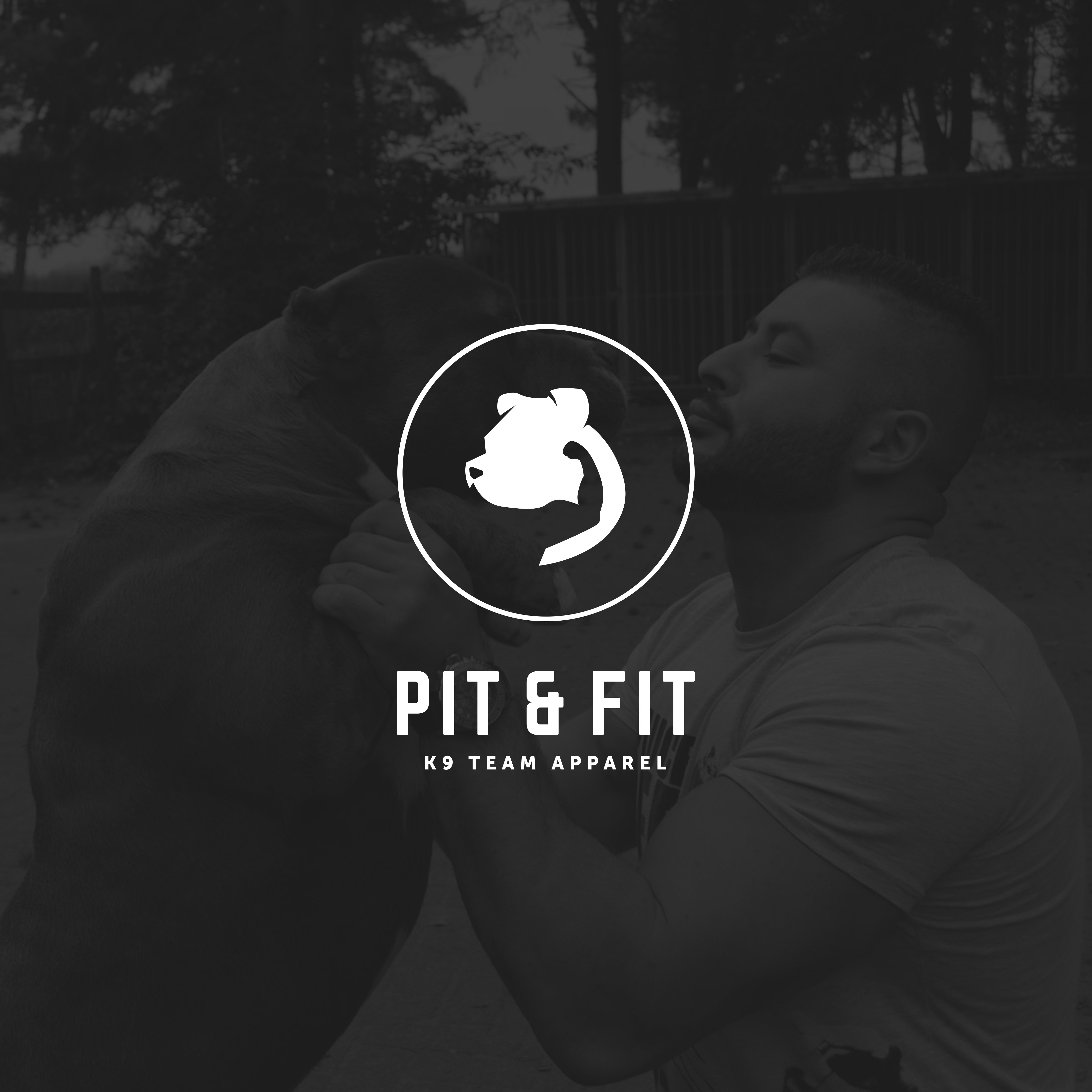 create brand for pit & fit k9 team apparel