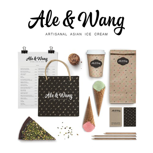Create the best and winning brand for our Artisanal Asian Ice Cream