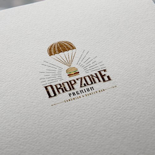 Logo concept for Dropzone