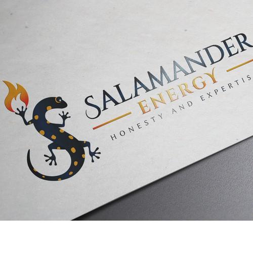 Salamander Energy Logo & Brand design
