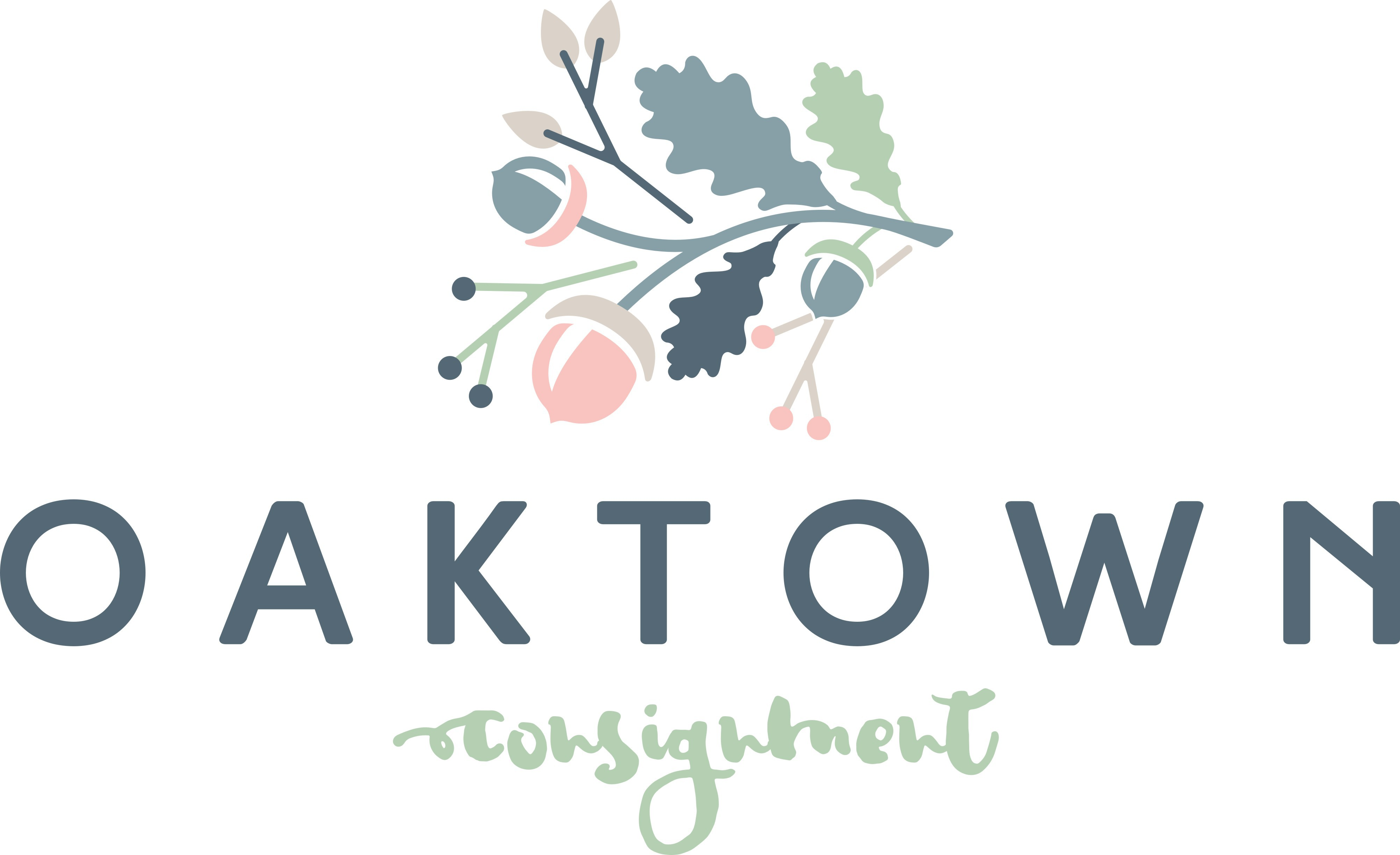 Create a feminine, rustic, hipster but modern logo for Oaktown Consignment, an online consignment boutique!