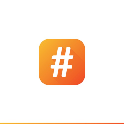 HashTag Generator App Icon