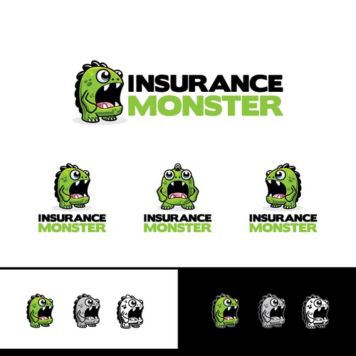 Awesome monster logo wanted for InsuranceMonster.com