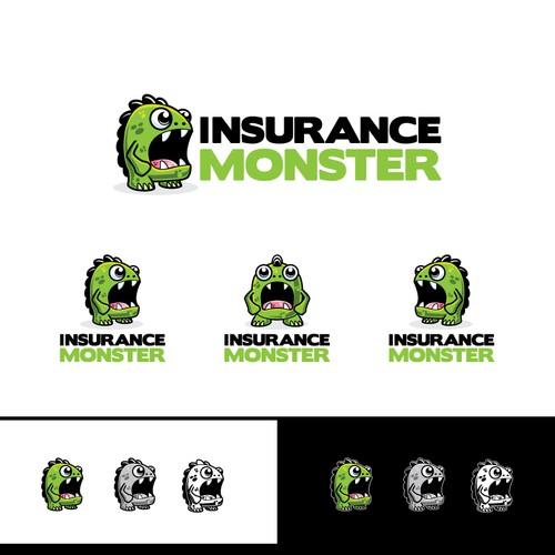 Awesome monster logo wanted for InsuranceMonster.com