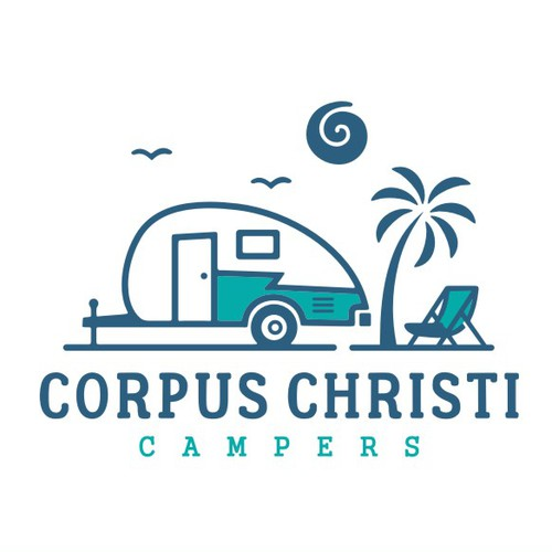 Logo & Brand Identity Pack for Corpus Christi Campers