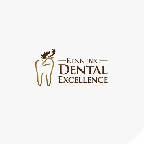 Bold logo for Kennebec Dental Excellence