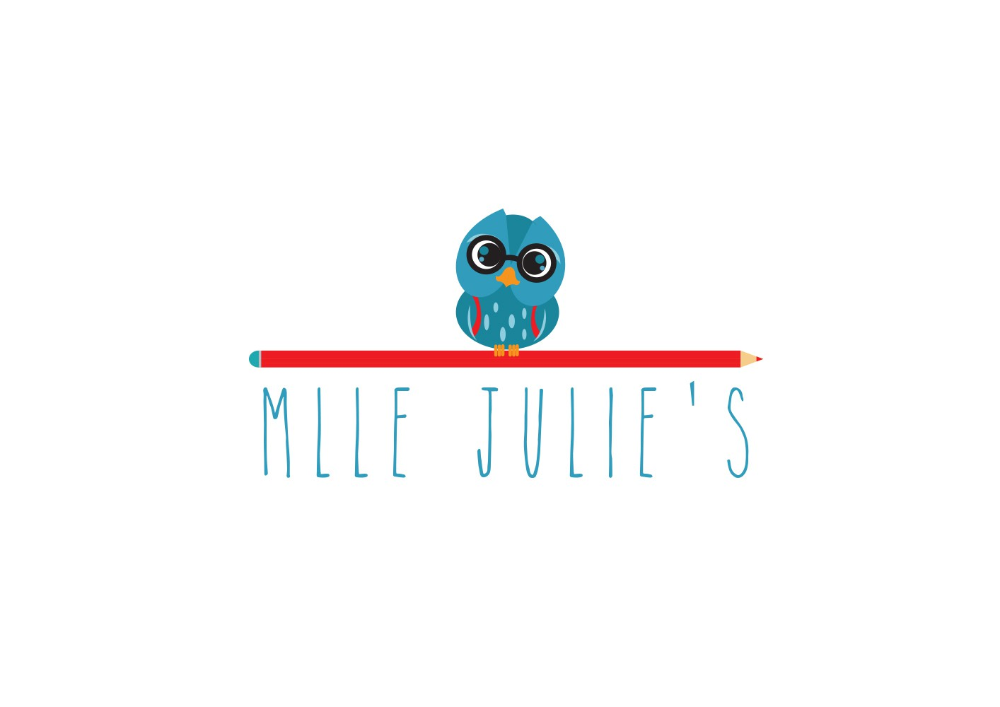Mlle Julie's needs a logo for her in home French tutoring and classes for children!