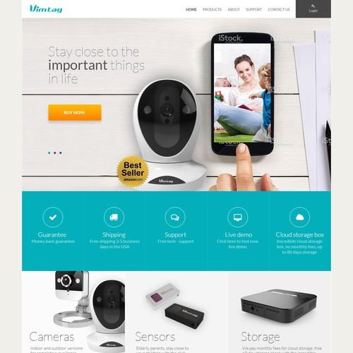 Crisp New Design for Bestselling Security Camera Brand